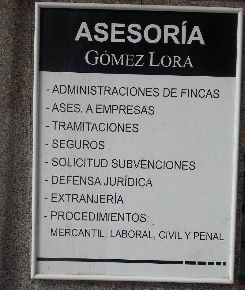 Asesoria Gomez Lora